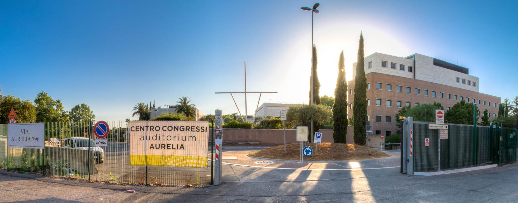 Gea Congress - Centro Congressi Auditorium Aurelia - Entrata